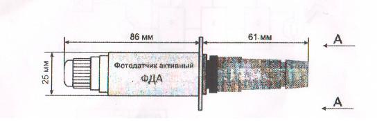 ФДА с разьемом FQ14-3TK-7 (байонет)