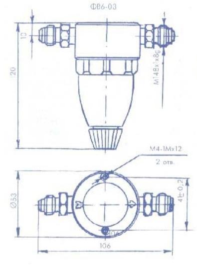 Схема фильтра очистки воздуха